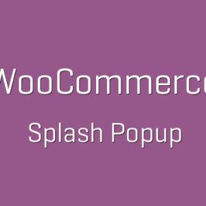 دانلود افزونه ووکامرس WooCommerce Splash Popup