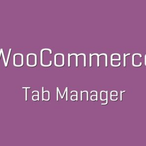 دانلود افزونه ووکامرس WooCommerce Tab Manager