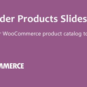 دانلود افزونه ووکامرس WooCommerce WooSlider Products Slideshow