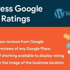 دانلود افزونه وردپرس WordPress Google Reviews & Ratings