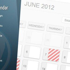 دانلود افزونه وردپرس تقویم WordPress Pro Event Calendar