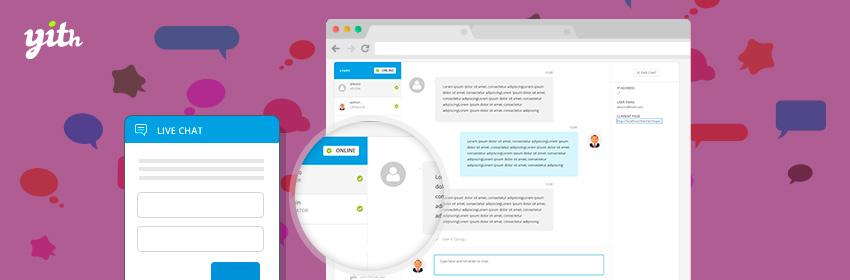 دانلود افزونه وردپرس چت آنلاین YITH Live Chat Premium