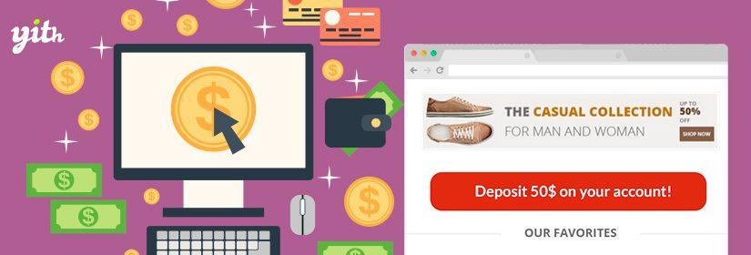 دانلود افزونه ووکامرس YITH Account Funds Premium