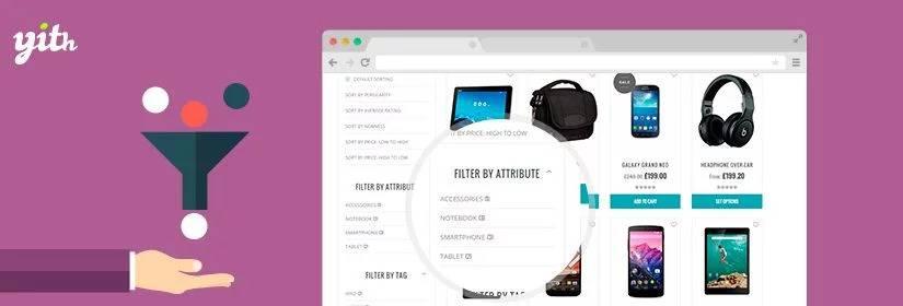 دانلود افزونه ووکامرس YITH Ajax Product Filter Premium