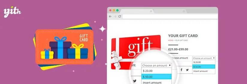 دانلود افزونه ووکامرس YITH WooCommerce Gift Cards Premium