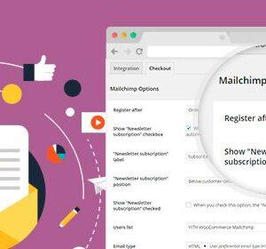 دانلود افزونه ووکامرس YITH WooCommerce Mailchimp Premium