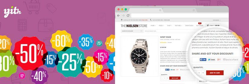 دانلود افزونه ووکامرس YITH Share for Discounts Premium