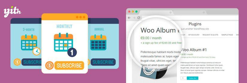 دانلود افزونه ووکامرس YITH WooCommerce Subscription Premium