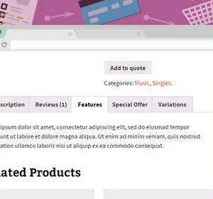 دانلود افزونه ووکامرس YITH WooCommerce Tab Manager Premium