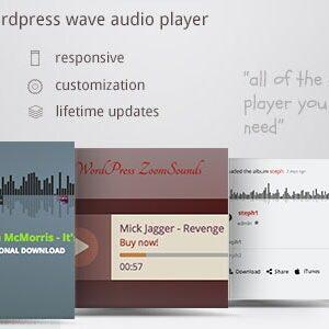 دانلود افزونه وردپرس پخش موزیک ZoomSounds