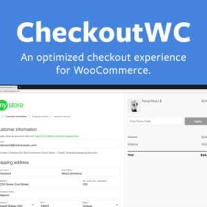 دانلود افزونه ووکامرس سفارشی سازی صفحه ثبت سفارش CheckoutWC