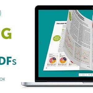 دانلود افزونه وردپرس کاتالوگ پی دی اف dFlip PDF FlipBook