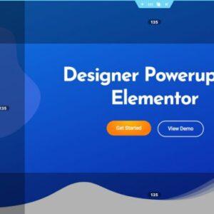 دانلود افزونه وردپرس دیزاینر پاور آپ Designer Powerup برای المنتور