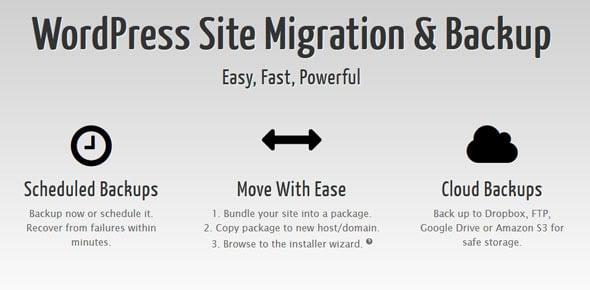 دانلود افزونه وردپرس بکاپ و انتقال سایت Duplicator Pro