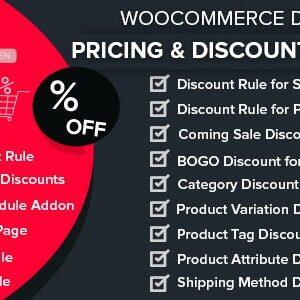 دانلود افزونه ووکامرس Dynamic Pricing & Discounts with AI