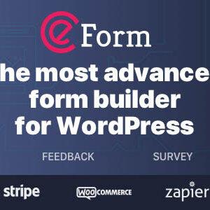 دانلود افزونه وردپرس فرم ساز eForm