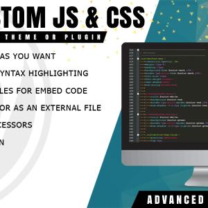 دانلود افزونه وردپرس Easy Custom JS and CSS