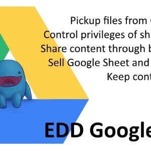 دانلود افزونه وردپرس EDD Google Drive
