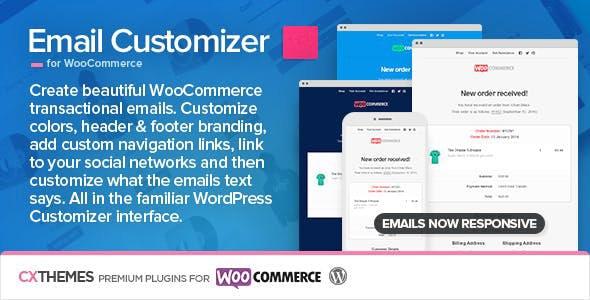 دانلود افزونه ووکامرس سفارشی سازی ایمیل Email Customizer