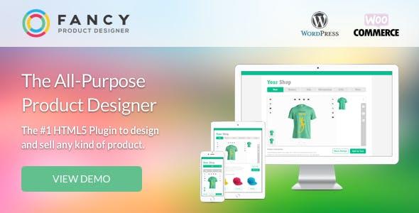 دانلود افزونه ووکامرس Fancy Product Designer