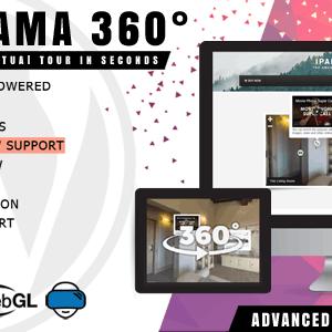 دانلود افزونه وردپرس ساخت تور مجازی iPanorama 360°