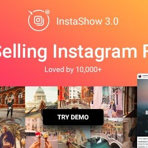 دانلود افزونه وردپرس فید و گالری اینستاگرام Instagram Feed