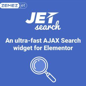 دانلود افزونه وردپرس JetSearch برای المنتور