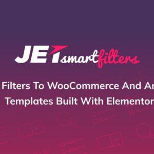دانلود افزونه وردپرس Jet Smart Filters برای المنتور