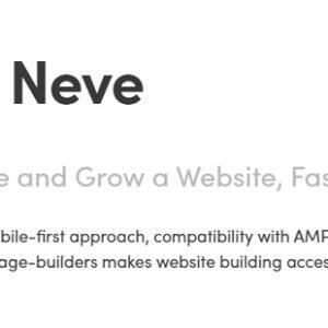 دانلود افزونه وردپرس نوه پرو Neve Pro