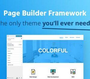 دانلود افزونه وردپرس Page Builder Framework Premium