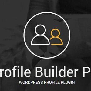 دانلود افزونه وردپرس عضویت Profile Builder Pro