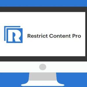 دانلود افزونه وردپرس محدودیت محتوای سایت Restrict Content Pro