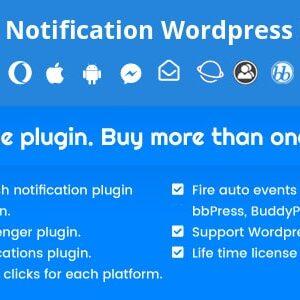 دانلود افزونه وردپرس اعلان هوشمند Smart Notification