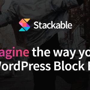 دانلود افزونه وردپرس stackable gutenberg blocks pro