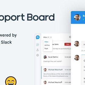 دانلود افزونه وردپرس چت و پشتیبانی Support Board