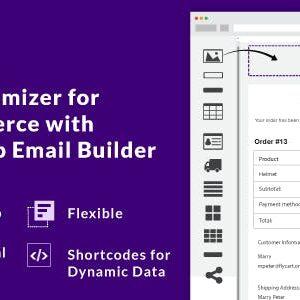 دانلود افزونه ووکامرس Email Customizer Drag and Drop Email Builder
