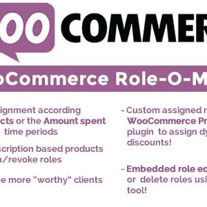 دانلود افزونه ووکامرس WooCommerce Role-O-Matic