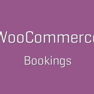 دانلود افزونه ووکامرس WooCommerce Bookings