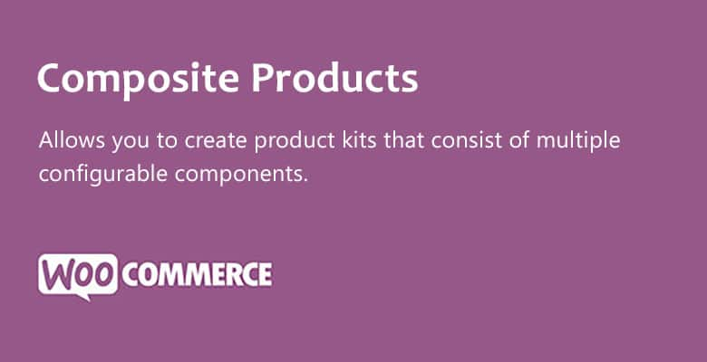 دانلود افزونه ووکامرس Woocommerce Composite Products