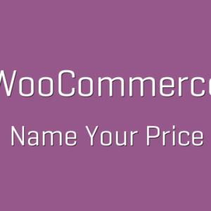 دانلود افزونه ووکامرس WooCommerce Name Your Price