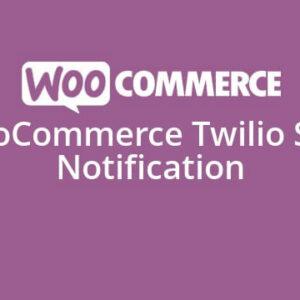 دانلود افزونه ووکامرس WooCommerce Twilio SMS Notifications