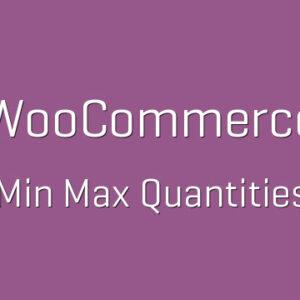 دانلود افزونه ووکامرس WooCommerce Min/Max Quantities