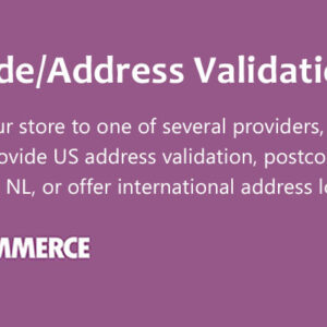 دانلود افزونه ووکامرس WooCommerce Postcode/Address Validation