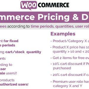 دانلود افزونه وردپرس WooCommerce Pricing & Discounts