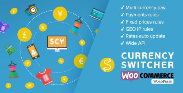 دانلود افزونه ووکامرس تغییر واحد ارزی WOOCS