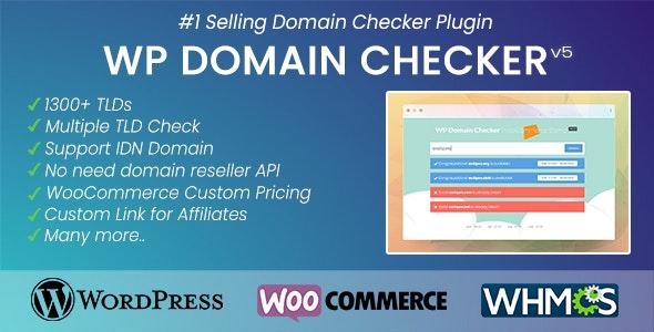 دانلود افزونه وردپرس جستجوی دامنه WP Domain Checker
