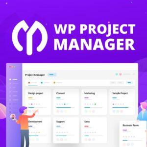 دانلود افزونه وردپرس مدیریت پروژه WP Project Manager Pro