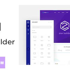 دانلود افزونه وردپرس صفحه ساز زاین Zion Builder