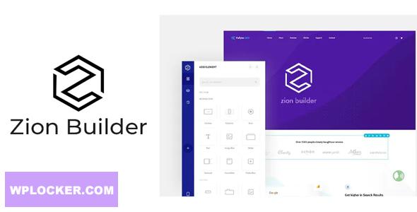 دانلود افزونه وردپرس صفحه ساز زاین Zion Builder pro