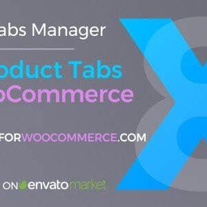 دانلود افزونه ووکامرس Add Product Tabs